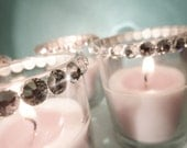 Swarovski Crystal Votive Candles - Chic Couture Wedding Accessory Votives For Your FABULOUS Wedding Reception