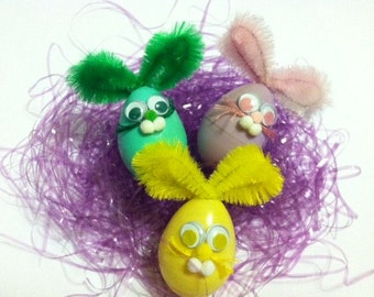 Easter Bunny Egg Pins