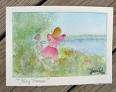 Original Watercolor Greeting Card