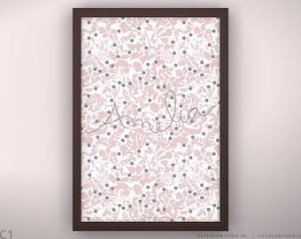 "Newborn Gift Print - Morning Mist - Unframed - 13 x 19"""