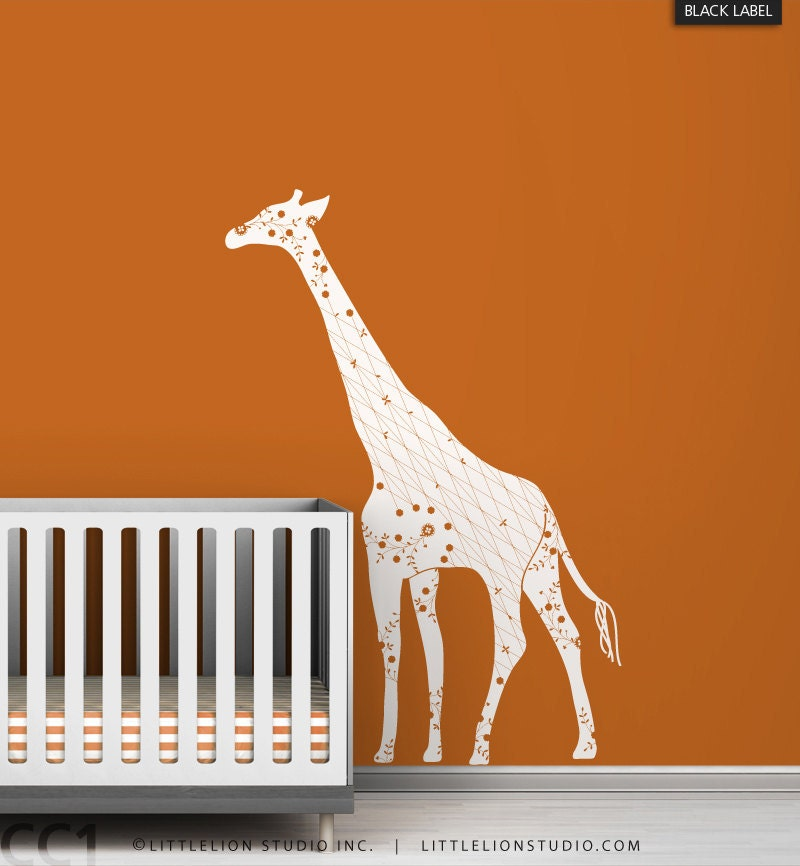 Image Result For Giraffe Decals For Nursery