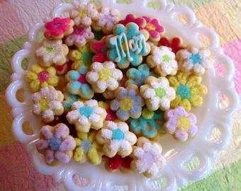 Mini May Flowers Cookies