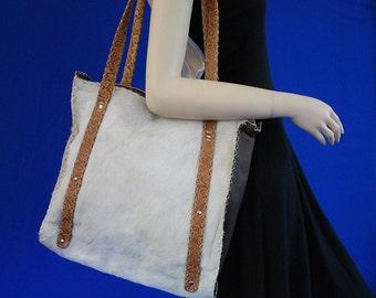 Handmade Shoulder Bag - Bags and Purses - Leather bag