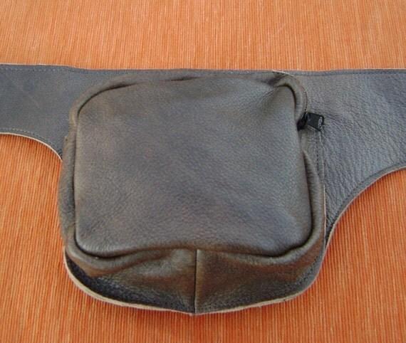 Leather Waist Purse