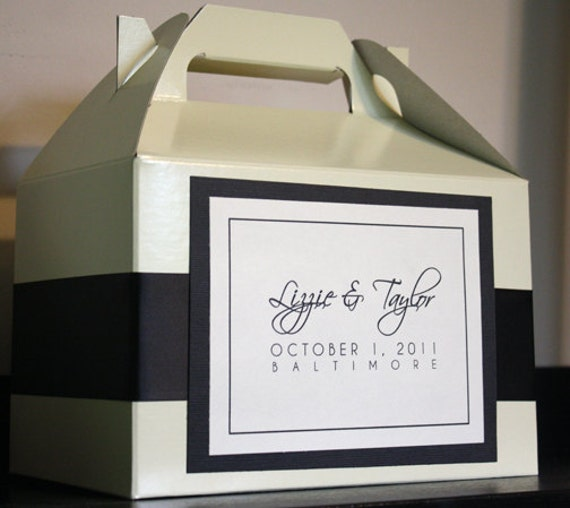 Wedding Website Password Ideas: Custom Wedding Welcome Overnight Guest Bag/Basket Unique
