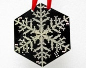 Snowflake Circuit Board Ornament - Interactive