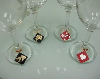 Circuit Board Wine tags / Coffee Mug tags / Water Bottle tags