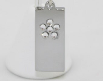 2GB USB Memory Ball Chain Necklace with Flower