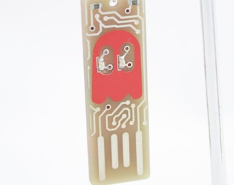Ghost USB Circuit Board Magnet  - LIGHTS UP