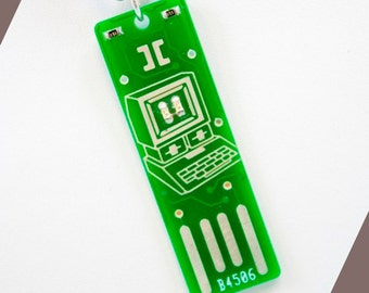 Apple Too USB Circuit Board Necklace with Ball Chain