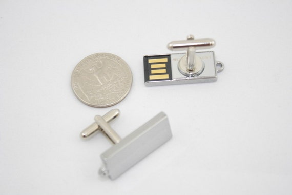 4GB total USB Memory Cufflinks