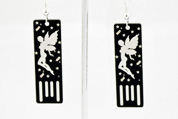Fairy USB Circuit Board Earrings - Light Up