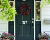 Custom House Numbers for Your Door or Mailbox Vinyl Decal