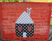 Georgia Bulldog Canvas