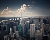 Fine Art Photography Print - 8x12 Inches - Blue New York City