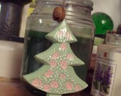 Chunky Christmas Tree Ornament