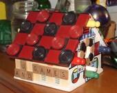 Fun and Games Decorative Birdhouse