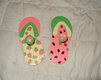 Flip Flop Coat Hanger Set