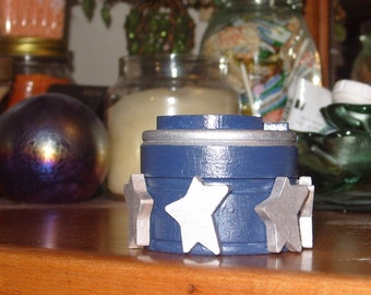 Stars and Moon Trinket Box