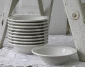 RESERVED FOR LIZ 10 ironstone bowls & platter