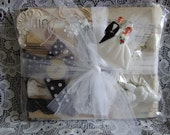 Wedding Vintage Paper Bag Album Kit