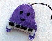 Felt Cellphone Charm - Piano