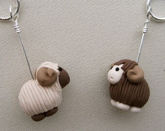 4 Ram Knitting Stitch Markers: The Perfect Stitch Markers When Knitting for Him