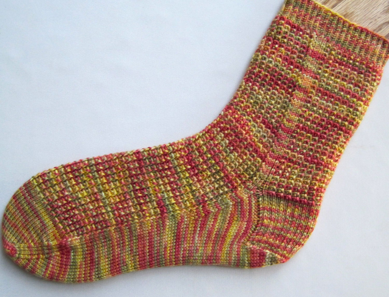 Knitted Sock Pattern: Ringlet Socks Knitting Pattern