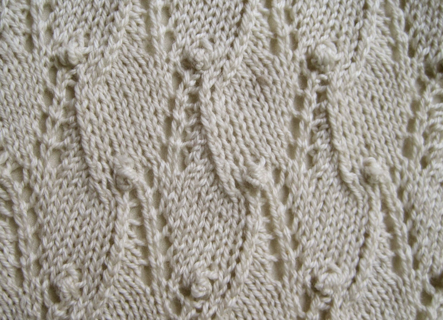 Knitting Pattern For Sampler Scarf : Knit Scarf Pattern: Lace Sampler Scarf / 1