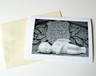 Notecard Sleeping Angel
