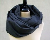 shawl neck warmer charcoal gray suit material