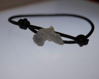 Africa sterling silver bracelet adoption bracelet African jewelry Adoption jewelry