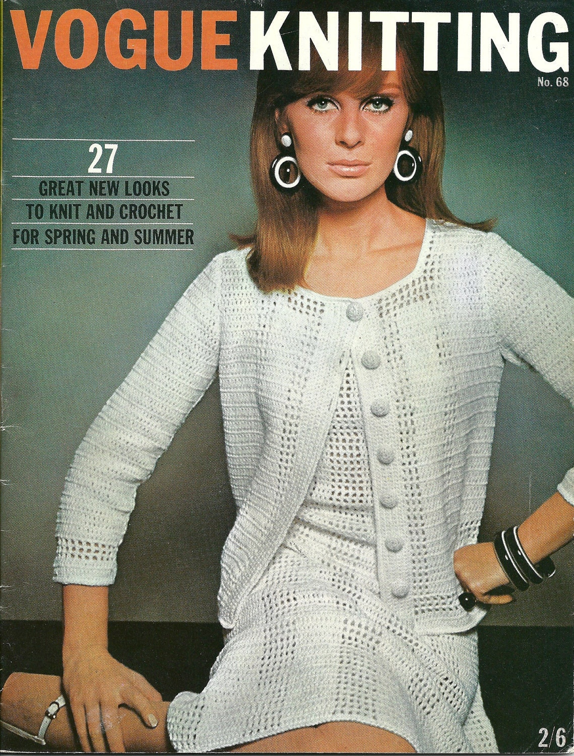 Knitting Magazines List : Vogue knitting magazine no by vintagemadamedefarge