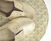 Handmade Soft Gray Oxfords - Special Listing for Marinda
