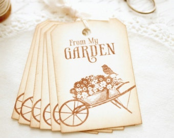 Gardening Gift Tags From My Garden Fresh Food Gifts Canned Goods Gift Tags Fruit Basket Gifts Flowers