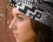 Black and White Full Turban