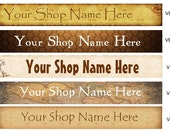 Customized Vintage Banners 1