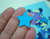 Starry, Starry Night - 250 mini stars in colors shown or you pick colors - crazyadsteam