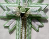 Mint Green Cross Magnet