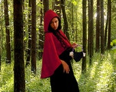 Little Red Riding Hood Cape Steampunk Lolita Tagt Team 123 cc  etsy guild tenx tt cccoe sos steam team
