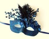 Twilight Tempest - fairy, Mardi Gras, Venetian, masquerade mask