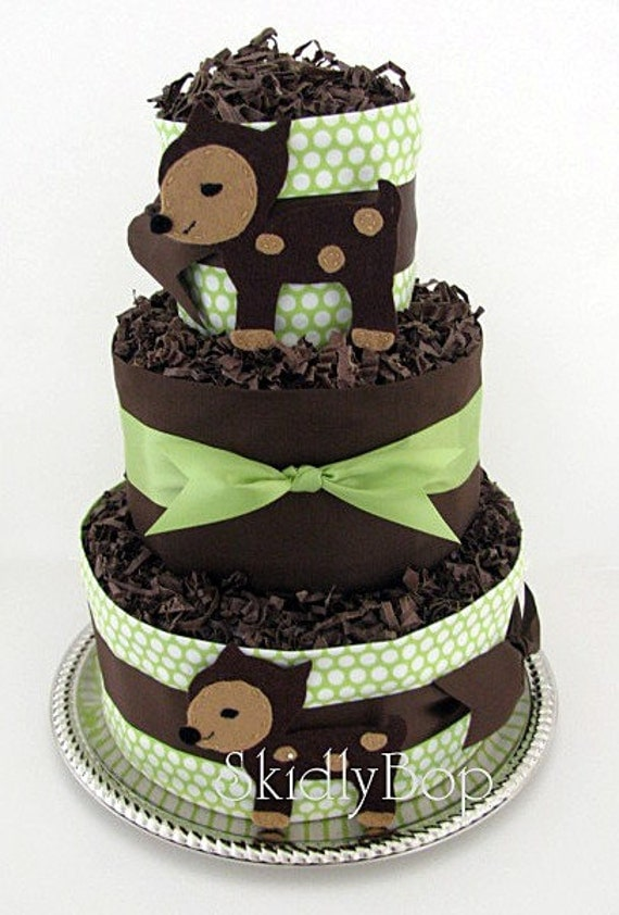 items similar to oh deer diaper cake on etsy