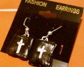 Firefly Dangly Shepard Book Charm Earrings