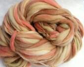 2 ounces Thick and Thin Merino Yarn