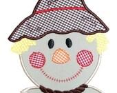 Scarecrow Applique Design