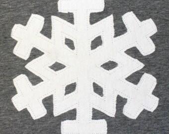 Snowflake Applique Design