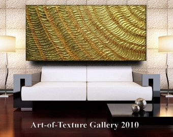 Original Custom Huge Abstract Modern Heavy Texture Palette Knife Impasto Oil Painting by Je Hlobik
