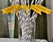 Drinking Straws for Baby Shower