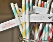 Carnival Themed Straws