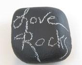 Chalk Board Rock Chalkboard